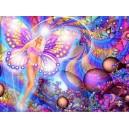 Fée papillon étincellante